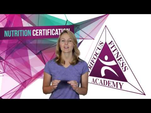 Nutrition Certification - YouTube
