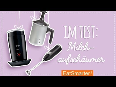 Milchaufschäumer Test - Handmilchaufschäumer oder elektrischer Milchicopter?