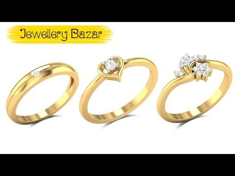 Women Latest Gold Ring Designs, Female New Gold Ring Designs  Finger Ring With Price & Weight