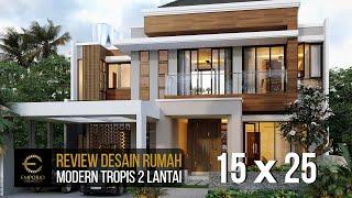 Video Desain Rumah Modern 2 Lantai Bapak Hermanto di  Bogor, Jawa Barat