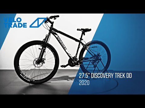 "Велосипед 27.5"" Discovery TREK DD 2020: video"