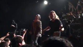 Mayhem - Deathcrush (Attila annihilates a fan onstage)