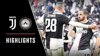 HIGHLIGHTS: Juventus vs Udinese - 3-1 - Ronaldo's rockets and Bonucci's bullet