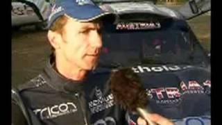 Testfahrten vor Rallye Lisboa-Dakar 2008