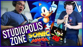 Download Sonic Mania: Studiopolis Zone (Act 1) Jazz Cover