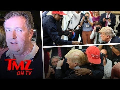 [TMZ] Piers Morgan Tells Kanye West To Stay Away From Politics!