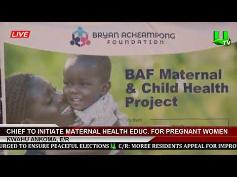Kwahu Ankoma: Chief To Initiate Maternal Health Education For Pregnant Women