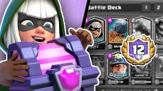 Clash Royale | Bandit Miner 12 Win Grand Challenge Deck | Battle Ram