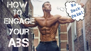 Ab Workouts: How to Engage Your Abs to Reduce Back Pain- Thomas DeLauer