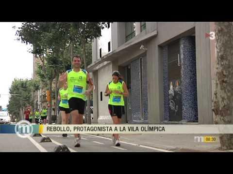 Vídeo Els Matins TV3 Cursa Vila Olímpica