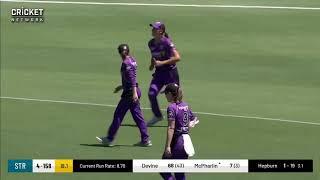 Adelaide Strikers v Hobart Hurricanes   WBBL Highlights