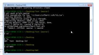 Git - Create and Delete Repositories