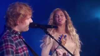 Beyoncé - Drunk in Love ft. Ed Sheeran (Live at Global Citizen Festival 2015)