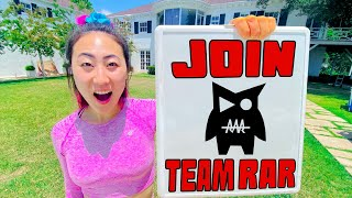 WE WANT YOU TO JOIN TEAM RAR!!