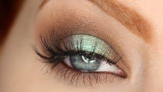 Chatty Drugstore Makeup Tutorial | Mermaid Green-Blue Eyes