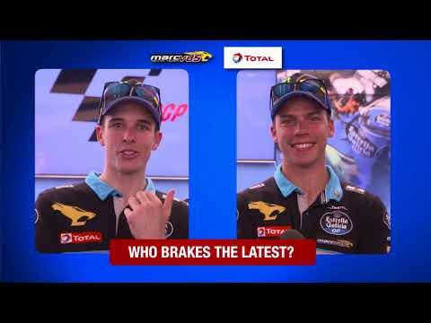 Alex Marquez and Joan Mir analyse each other