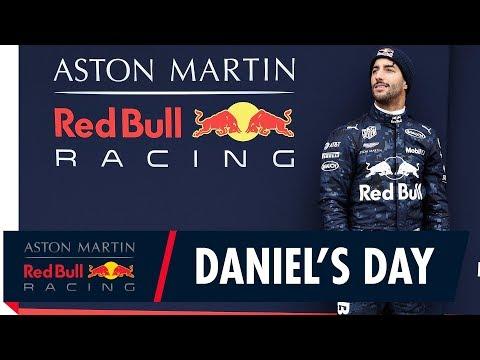 Follow Daniel Ricciardo as he drives the RB14 for the first time
