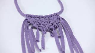 How To Make: Macrame Necklaces