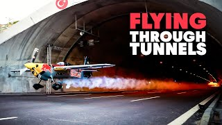 Flying A Plane Through Tunnels: World First | 4K HD