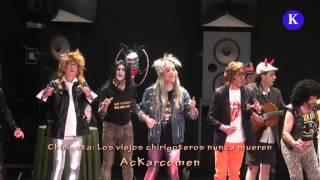 Premio a la Paz: candidato. Carnaval  Carmona 2016- Chirigota Los viejos chirigoteros