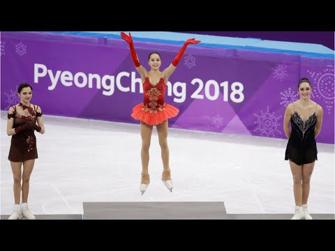 Russia's Alina Zagitova Wins Figure Skating Gold