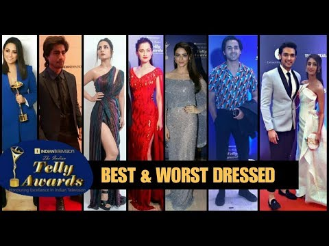 Indian telly awards 2019 Red Carpet - BEST & WORST DRESSED CELEBRITIES
