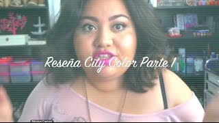 preview picture of video 'City Color Review Part 1❤AbrilLoves'