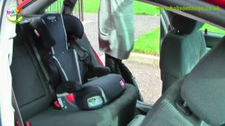 Graco Logico L X Comfort Booster Car Seat Fitting Guide