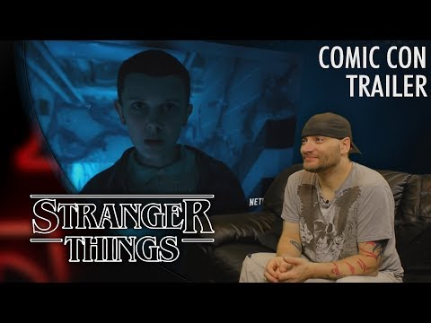 Stranger Things:  Season 2 Comic Con 'Thriller' REACTION!