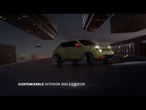 Nissan  Juke Хетчбек класса B - рекламное видео 4