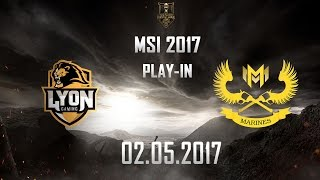 [02.05.2017] LYN vs GAM [MSI 2017][Play-in]