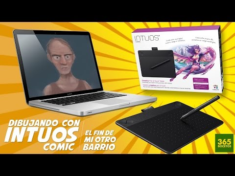 WACOM INTUOS COMIC - CLIP STUDIO PAINT - TUTORIAL - VIDEO FINAL MI OTRO BARRIO