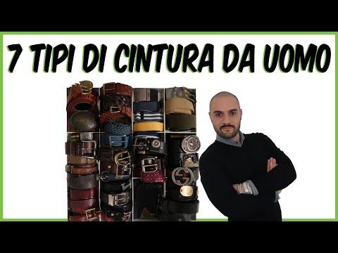7 Tipi di Cintura da UOMO || Andrea Cimatti