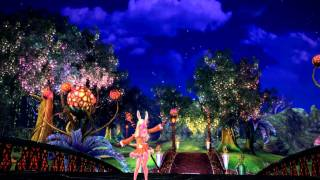 TERA Online Stress test -Dance (Elin race)
