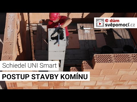 Stavba komínu Schiedel UNI SMART