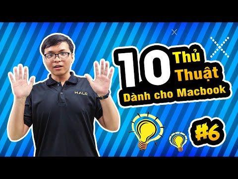 10 thủ thuật hay cho người dùng MACBOOK - HALO MAC