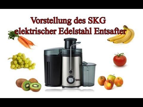 """""""HooToo SKG elektrischer Edelstahl Entsafter"""" -Test"""