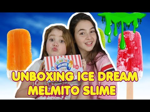 Unboxing Ice Dream Melmito Slime  | slime gelato Novità 2018 by Marghe Giulia Kawaii