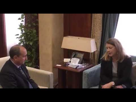 إجتماع الوزير / عمرو نصار مع وفد شركة بيبسى العالمية