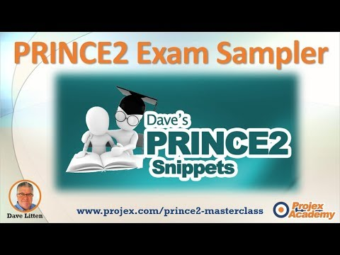 PRINCE2 Foundation and Practitioner Exam Samples - YouTube