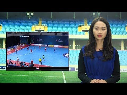 VFF NEWS SỐ 109 | ĐT Futsal Việt Nam và Uzbekistan sẵn sàng trước trận tứ kết Futsal Châu Á 2018