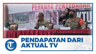 Sebar Ratusan Konten Hoaks, Pendapatan yang Diraup dari YouTube Aktual TV Capai Miliaran Rupiah