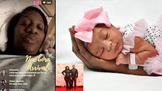 Supa Cent Talks About Labor Pains Before Giving Birth To Daughter Lea! 👶🏽