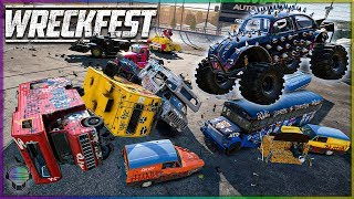 MONSTER TRUCK DERBY DESTRUCTION! | Wreckfest