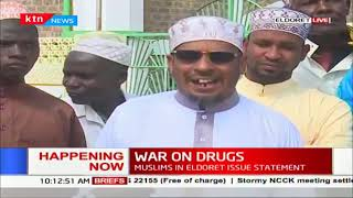Eldoret Muslim leaders decry rampant drug abuse among youth, want CS Matiang\'i to intervene