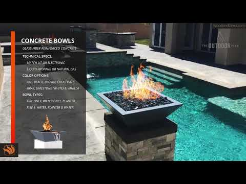 Concrete Bowls by The Outdoor Plus