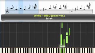 Divine - SNSD (Piano Ver) - Sarah