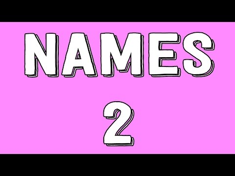 How Do Names Work? Part II - Philosophy Tube
