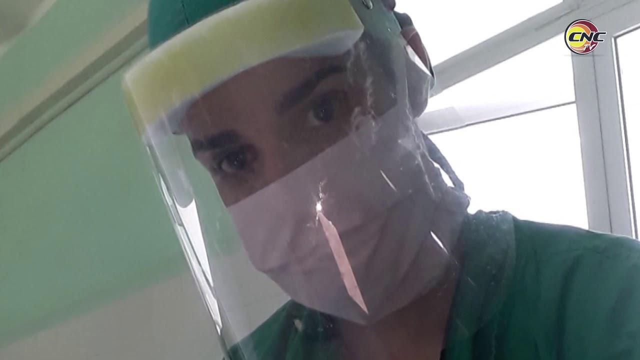 Joven médico de Granma atendió a niños con la Covid-19 en Santiago de Cuba