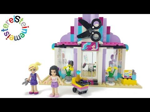 Lego® Friends 41093 Heartlake Friseursalon Review +